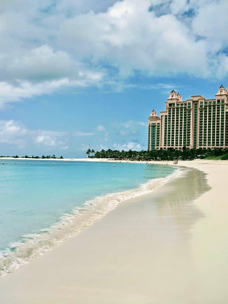Beach at The Atlantis (Nassau, Bahamas)