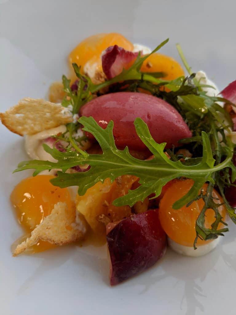 A dish from Le Bistrot du Gabriel, Bordeaux.